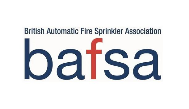 BAFSA Delighted With London Assembly's Move To Launch Report Calling For Installation Of Sprinklers In All New UK Homes
