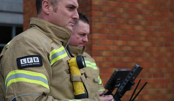 How Drone Technology Helps London Fire Brigade With Incident Command