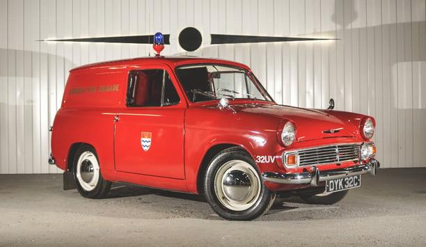 1960s London Fire Brigade Van Sells For Over £10,000 In Classic Car Auction