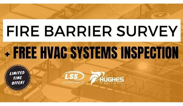 LSS Life Safety Services Offers Free HVAC Inspection Of A Single System With The Purchase Of A Fire Barrier Service