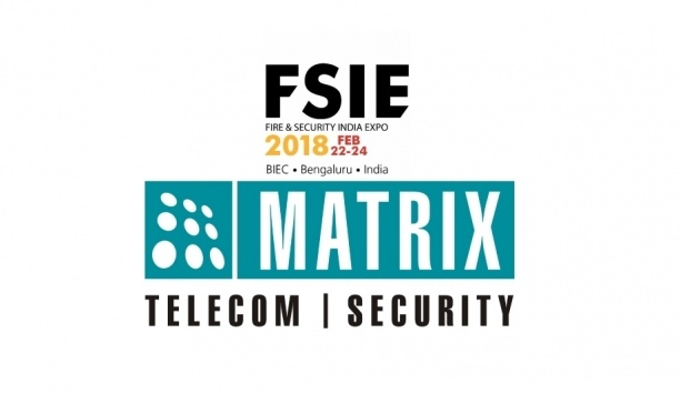 Matrix To Showcase Access Control And Surveillance Solutions At Fire & Security India Expo 2018