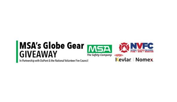 MSA, DuPont, And The NVFC Shares The Names Of The Latest Recipients Of The Globe Gear Giveaway