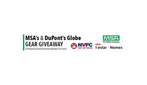 MSA, Dupont, And NVFC To Provide PPE Gears Through The 2021 Globe Gear Giveaway Program