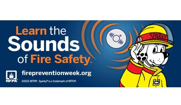 NFPA The Official Sponsor Of Fire Prevention Week™ Has Announced Learn The Sounds Of Fire Safety As The Theme