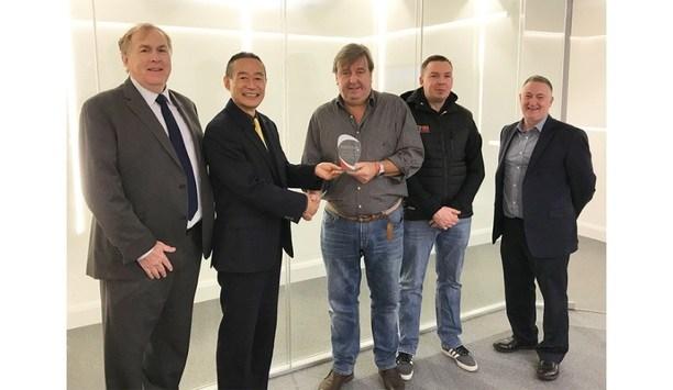 Nittan Awards Its Elite Partner Of The Year Award To FTI, Dublin