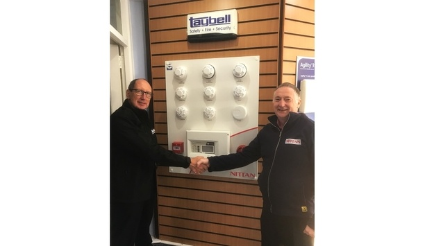 Nittan Displays Its Fire Products Demonstration Board At Taybell's Stores