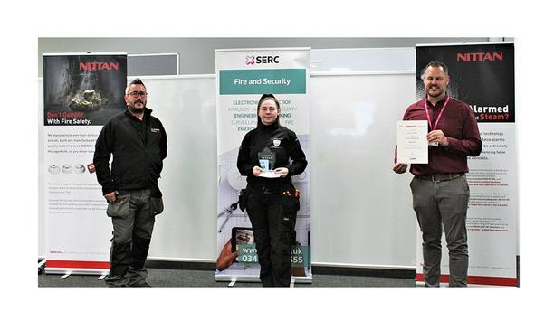 Nittan Sponsors Fire Engineering Apprentice Of The Year For Five Years