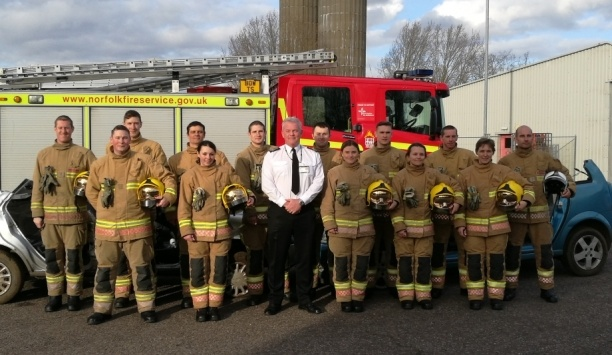 Norfolk Fire & Rescue Service Conducts Firefighter Training For Rural Safety
