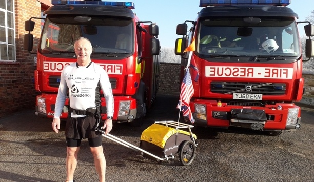 North Yorkshire Firefighter Justin Rowe To Run 1,000 Miles, Raising Funds For Allied Forces Foundation