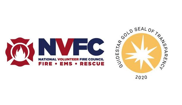 National Volunteer Fire Council Earns 2020 Gold Seal Of Transparency From GuideStar