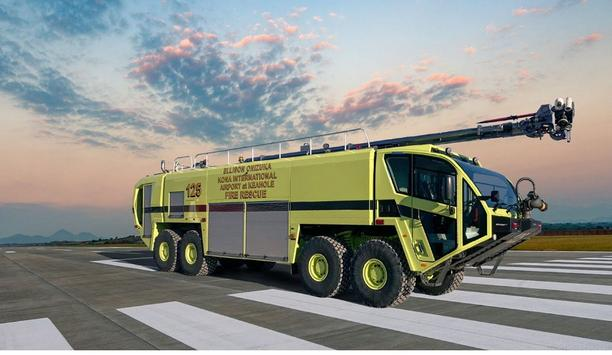 Hawaii Airports Take Delivery Of Eight Oshkosh Airport Products Striker ARFF Vehicles