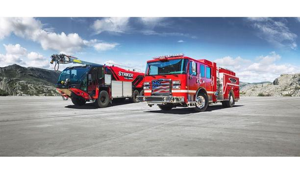 Oshkosh Corporation's Striker Aircraft Rescue And Firefighting (ARFF) Vehicle To Be Exhibited At China Fire 2021