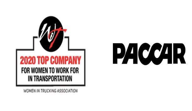 """PACCAR Recognized As A """"Top Company For Women To Work For In Transportation"""""""