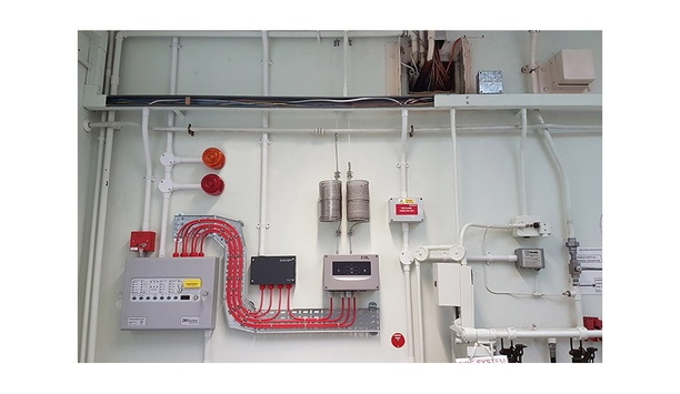 Patol Supplies SecuriSens ADW 535-2 Heat Detector To Enhance Fire Safety For A Laboratory
