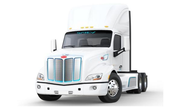 Peterbilt Announces The Model 579EV Is Now Available For Customer Orders