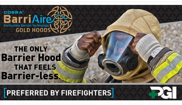 PGI Launches COBRA BarriAire Gold Hoods To Enhance Clothing For Firefighters And Rescue Workers