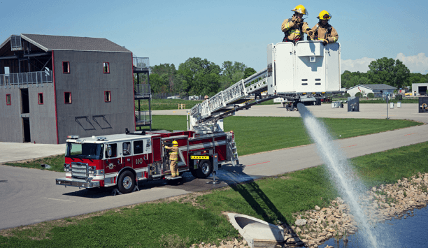 Pierce Ascendant 110-foot Aerial Platform Purchased By Town Of Taber Fire Department, Alberta