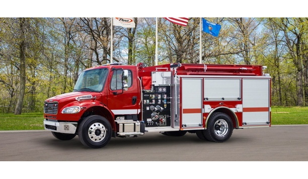 Pierce Manufacturing Supplies Nine Pumpers Built On A Freightliner Chassis For Dyer County Fire Department