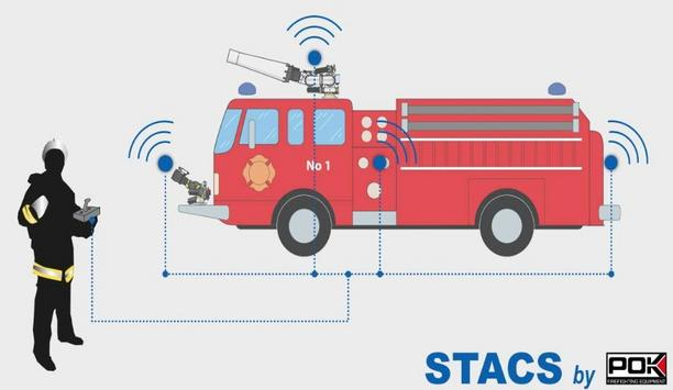 POK Launches STACS A Firefighting Vehicle Monitor Control System
