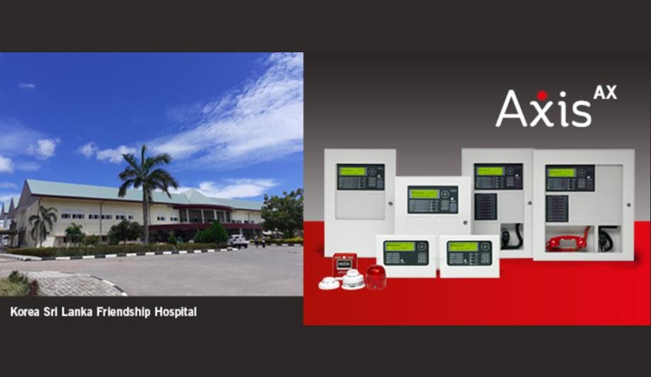 Advanced Installs 2-Loop And 4-Loop, UL-Listed Axis AX Fire Panels At Colombo's Korea Sri Lanka Friendship Hospital