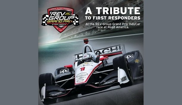 REV Group, Inc. And Road America Pay Tribute To First Responders At NTT IndyCar Series REV Group Grand Prix 2019