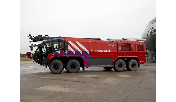 Rosenbauer Provides 13 Crash Tenders To Enhance Fire Security At Amsterdam Airport Schiphol