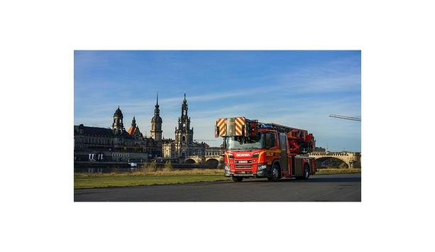Rosenbauer Develops The Technology Of Turntable Ladders With Tilting Jib For The L32A-XS 3.0 Turntable Ladder From The Dresden Fire Brigade