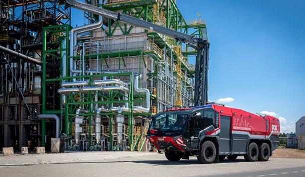 Rosenbauer Airfield Industrial Fire-Fighting Vehicle PANTHER