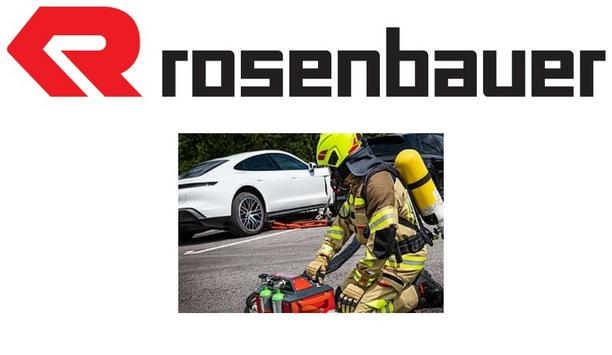 Rosenbauer Launches New Extinguishing System For Burning Traction Batteries In Electric Vehicles