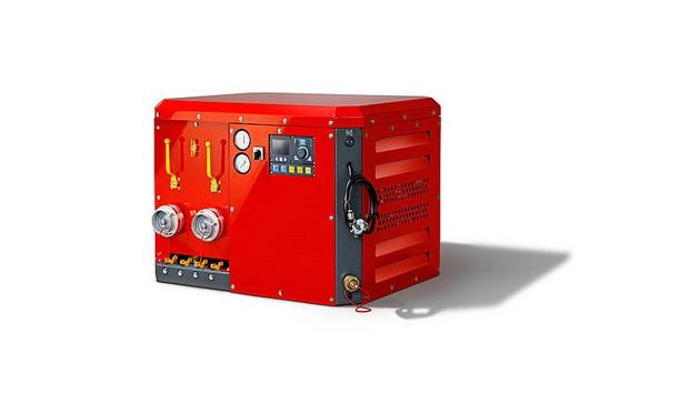 Rosenbauer Introduces Compressed Air Foam RFC CAFS Cube For Water, Foam, And CAFS Operations