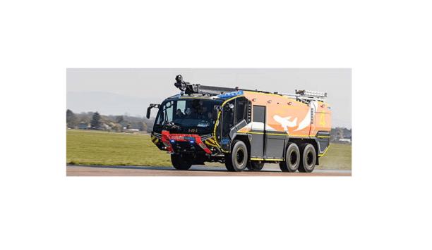 Rosenbauer PANTHER Fire Engine Secures Stuttgart Airport Fire Department