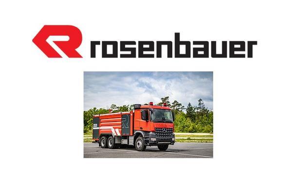 Rosenbauer International AG Unveils Customized Firefighting Vehicles In New Modular Technology
