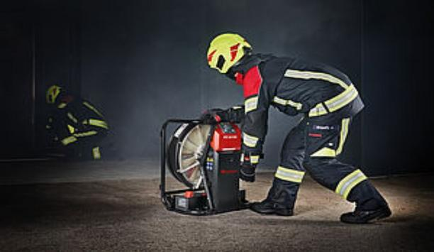 Rosenbauer RTE AX B16 The High-Performance Fan With A New Battery