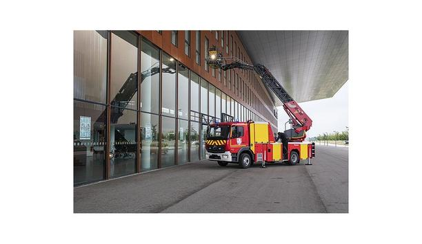 Rosenbauer Launches A New Turntable Ladder With XS Technology For Fall Protection And Height Rescue
