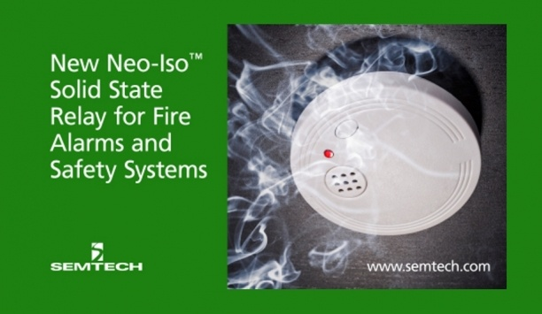 Semtech Launches Neo-Iso Solid State Relay For Fire Alarms, Smoke Detectors And Safety Systems