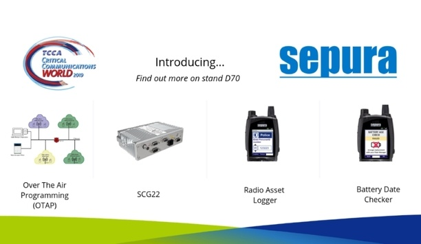 Sepura Launches TETRA Mobile Radio And OTAP Solution At Critical Communications World 2019