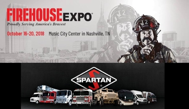 Spartan Motors' Dealers Showcase Safety And Security Solutions At Firehouse Expo 2018