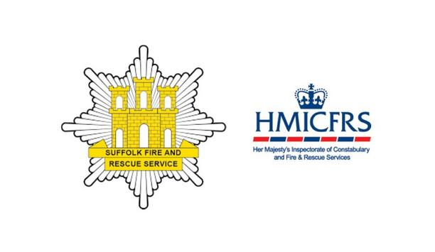 Suffolk Fire And Rescue Service Recognized For Their COVID-19 Response By Her Majesty's Inspectorate Of Constabulary And Fire & Rescue Services