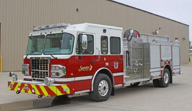 Toyne Delivers Three New Pumper Apparatus To Sumter, South Carolina