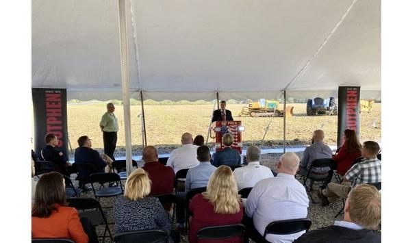 Sutphen Corporation Breaks Ground On New 185,000-Square-Foot Facility In Urbana