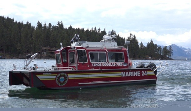 Tahoe Douglas Fire Protection District Extinguishes Barge Fire Started Post-Independence Day Pyrotechnics Show