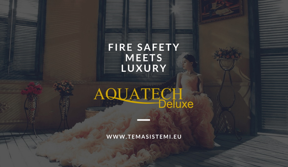 Tema Sistemi Launches Acquatech Deluxe High Pressure Water Mist System To Enhance Fire Safety