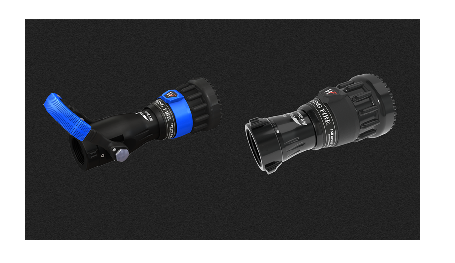Task Force Tips Announces The Working Fire Nozzle Fixed GPM Nozzle With Pressure Relief
