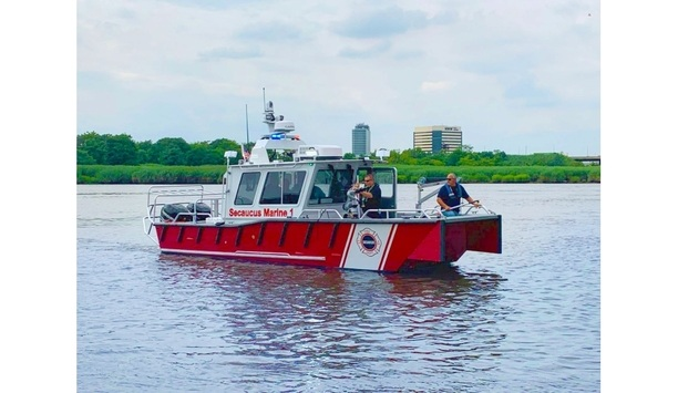 Lake Assault's Firefighting And Rescue Craft Deployed By The Secaucus, New Jersey Fire Departments