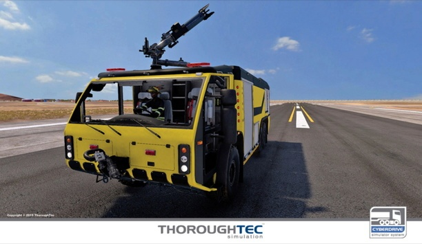 ThoroughTec's CYBERDRIVE ARFF Simulators Improves ARFF Solutions For Fire Safety Organizations