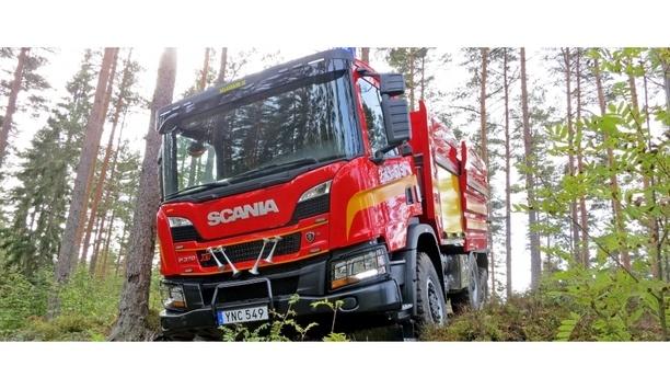 Scania's Fire Tanker Truck Chosen By Eksjö Rescue Services To Combat Forest Blazes