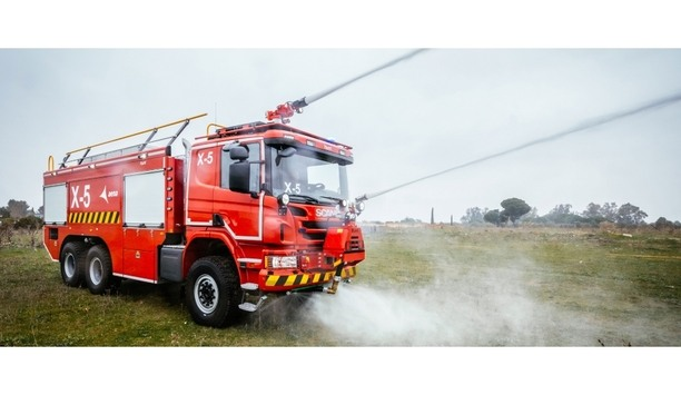AENA The Spanish Airports Giant Adds 14 Scania P 490 6×6 Fire Trucks To Its Emergency Fleet