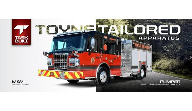 Toyne Provides A Customized Pumper Vehicle To Enhance Fire Safety Systems At The Huntley Fire Protection District