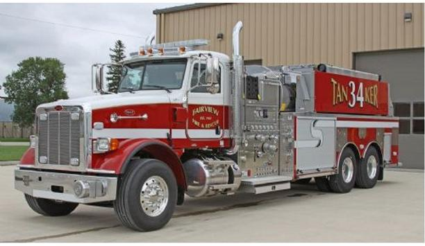 Toyne Delivers New Apparatus To Fairview Fire And Rescue