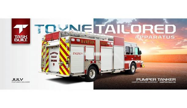 Toyne Provides Hampton Falls Fire Department With Their Pumper Vehicle To Enhance Firefighting Operations